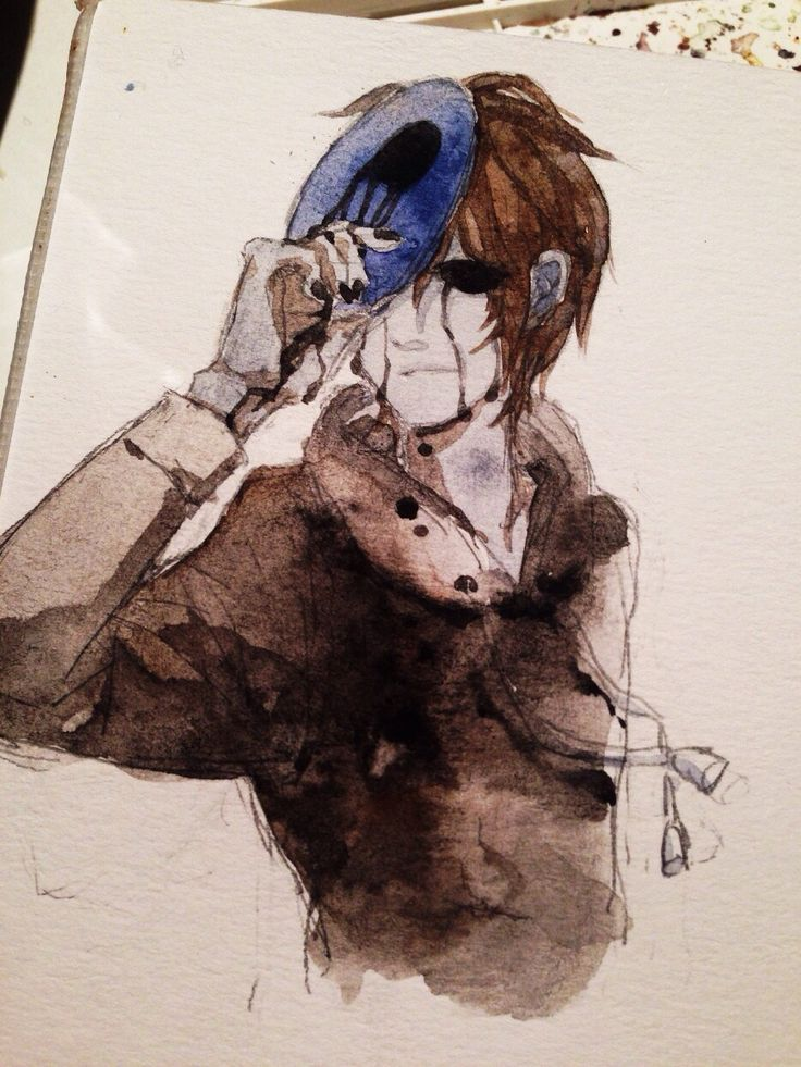 Eyeless Jack water paint