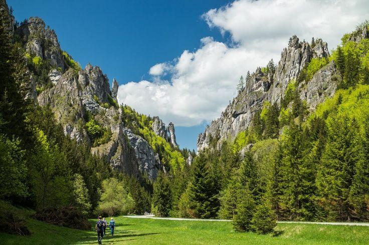Vratna Valley in the Mala Fatra mountains