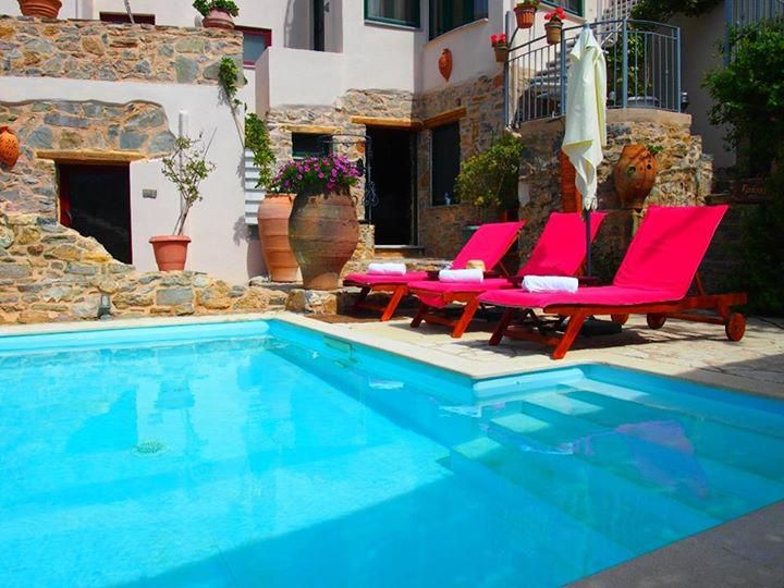 Join us for a quick refreshing swim in our pool!! http://www.cressa.gr  #Crete #Sitia #cressa #greeksummer
