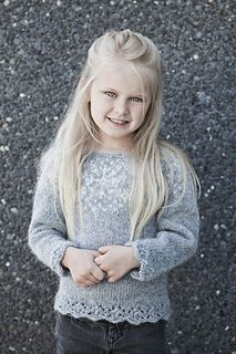 Frozen sweater - Pattern available now in 8 sizes for 2-10 years old!
