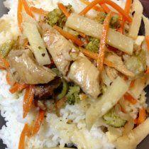 Receta de Pollo Tailandés lo mejor