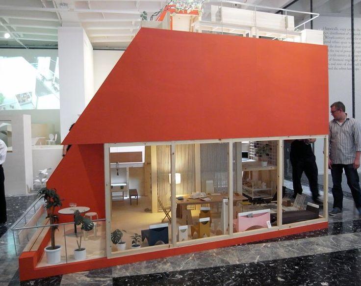a scaled model of 'atelier bow-wow' by yoshiharu tsukamoto and momoyo kaijima
