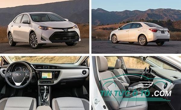 Phiên bản mới của Toyota Altis 2017 được trang bị động cơ xăng 1.6L