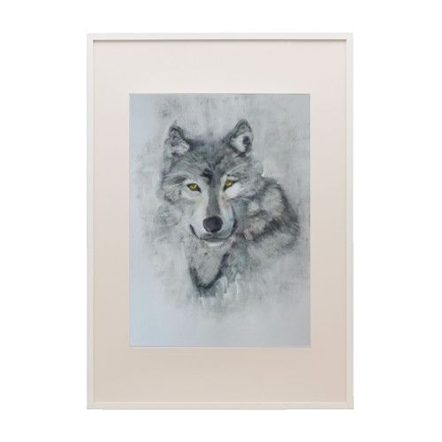 Wilk akryl A3 - Dom-Mal - Obrazy akrylowe