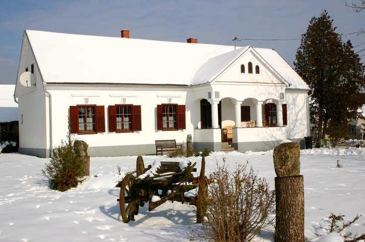 Winter in the Őrseg