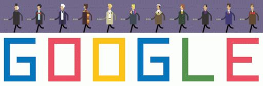 Link to the Doctor Who 50th Anniversary Google Doodle. Probably one of the best doodles I've seen in a while.