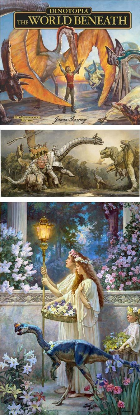 James Gurney, Dinotopia: Art, Science and Imagination