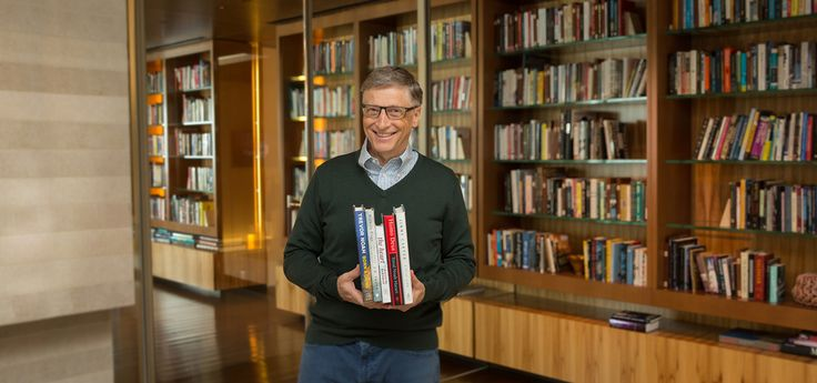 "Bill Gates shares five books he hopes you'll enjoy reading this summer: ""Born a Crime"" by Trevor Noah, ""The Heart"" by Maylis de Kerangal, ""Hillbilly Elegy"" by J.D. Vance, ""Homo Deus"" by Yuval Noah Harari, and ""A Full Life"" by Jimmy Carter."