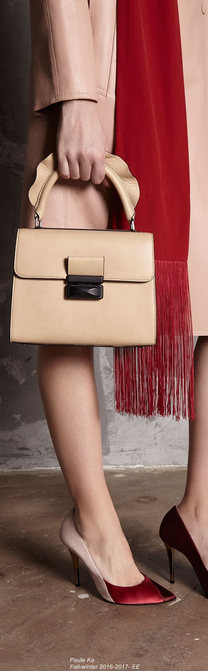 Paule Ka Fall-winter 2016-2017- EE - small zip around purse, buy ladies handbags online, leather coin purse *ad