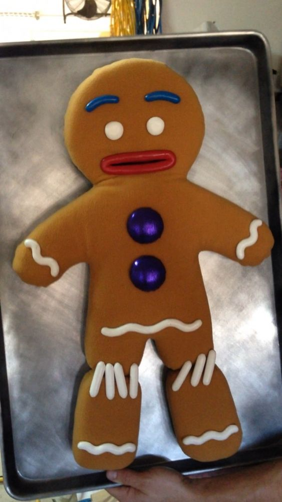 Gingy - Gingerbread Man Puppet