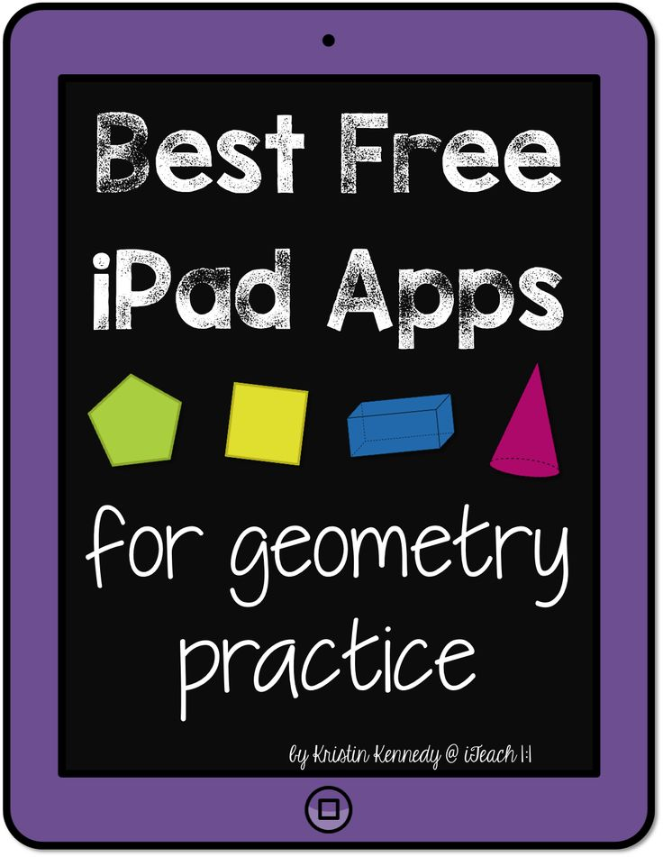 Best FREE iPad apps for geometry practice