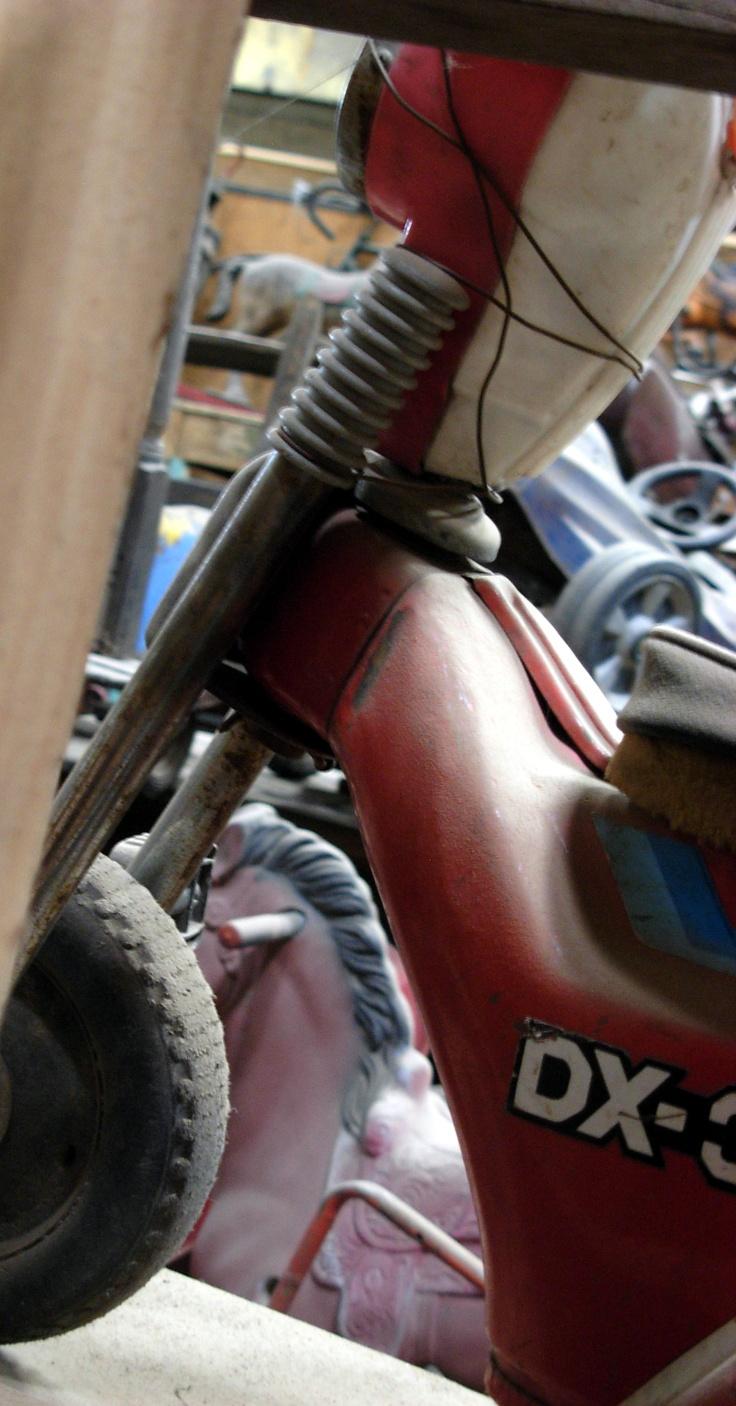 Motos a pedales,Sonia Carroza Antiguedades