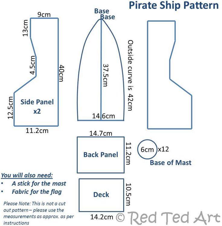 Корабль из картона своими руками | Детвора Онлайн