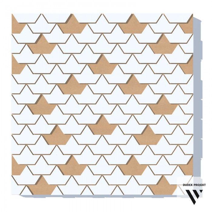 ŁODZIE ZATOPIONE - DUDEK projekt. Dekoracyjne, trójwymiarowe panele ścienne wykonane z MDFu, lakierowane. Nowoczesna i oryginalna dekoracja Twojego wnętrza.