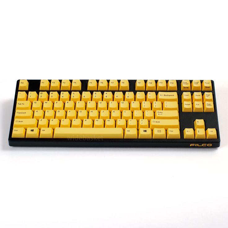 Filco Majestouch 2 Tenkeyless Mechanical Keyboard Cherry MX Brown  Yellow #Filco