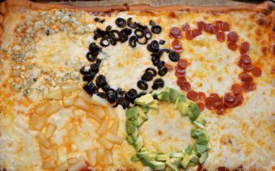 10 Olympic-Themed Recipes - Love to be in the Kitchen Olympic pizza