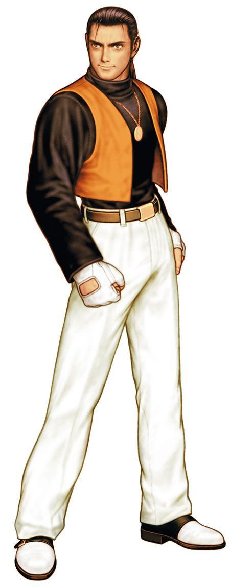 Robert Garcia from King of Fighters 2000