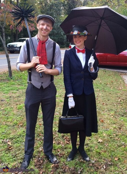 Dana: My boyfriend, Paul and I wanted to dress up together for a costume party, so I began to think of couple costume ideas. I love the Classics and Mary Poppins...