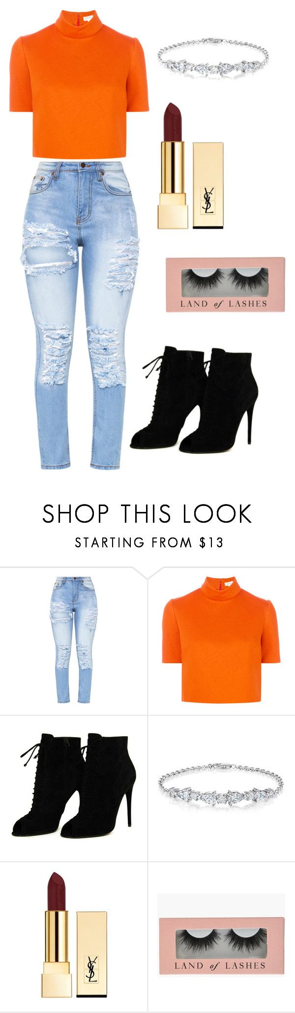 """""""Untitled #61"""" by aya-rosee ❤ liked on Polyvore featuring Delpozo, Tom Ford and Yves Saint Laurent"""