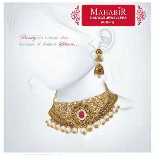 Beauty that lasts for lifetime - From #MahabirDanwarJewellers