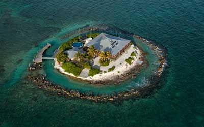Diez islas privadas únicas para abordarlas en 'jet' http://www.deluxes.net/view.php?id=379