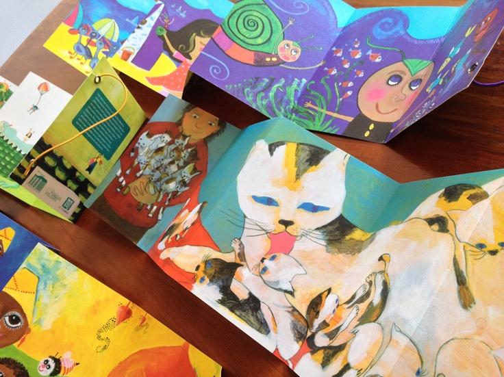 Con las ilustraciones de María José Arce, Juanita Canela y Soledad Mesa.
