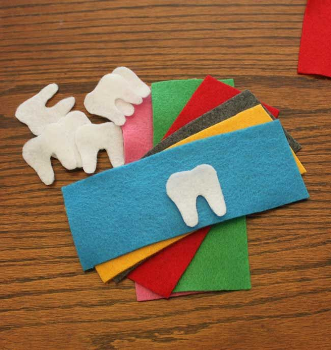 Tooth Fairy Pockets - cut out shapes