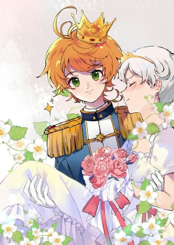 Prince Emma And Princess Norman The Promised Neverland