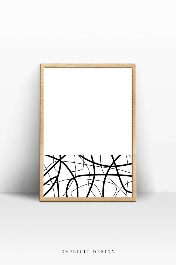 Minimalist Lines Poster, Abstract Art, Simple Minimalism Wall Print, Modern Black Stripes, White Prints, Minimal Design, Fine Line Artwork.
