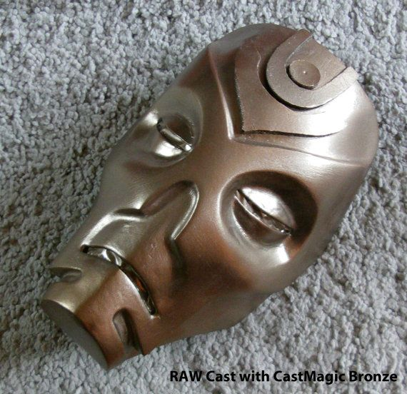 Skyrim Dragon Priest Mask Casts by ArmorCorpCustoms on Etsy, €45.00