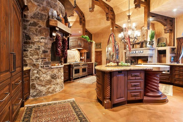 Tuscan kitchen ideas old world gothic and victorian for Old world tuscan kitchen designs