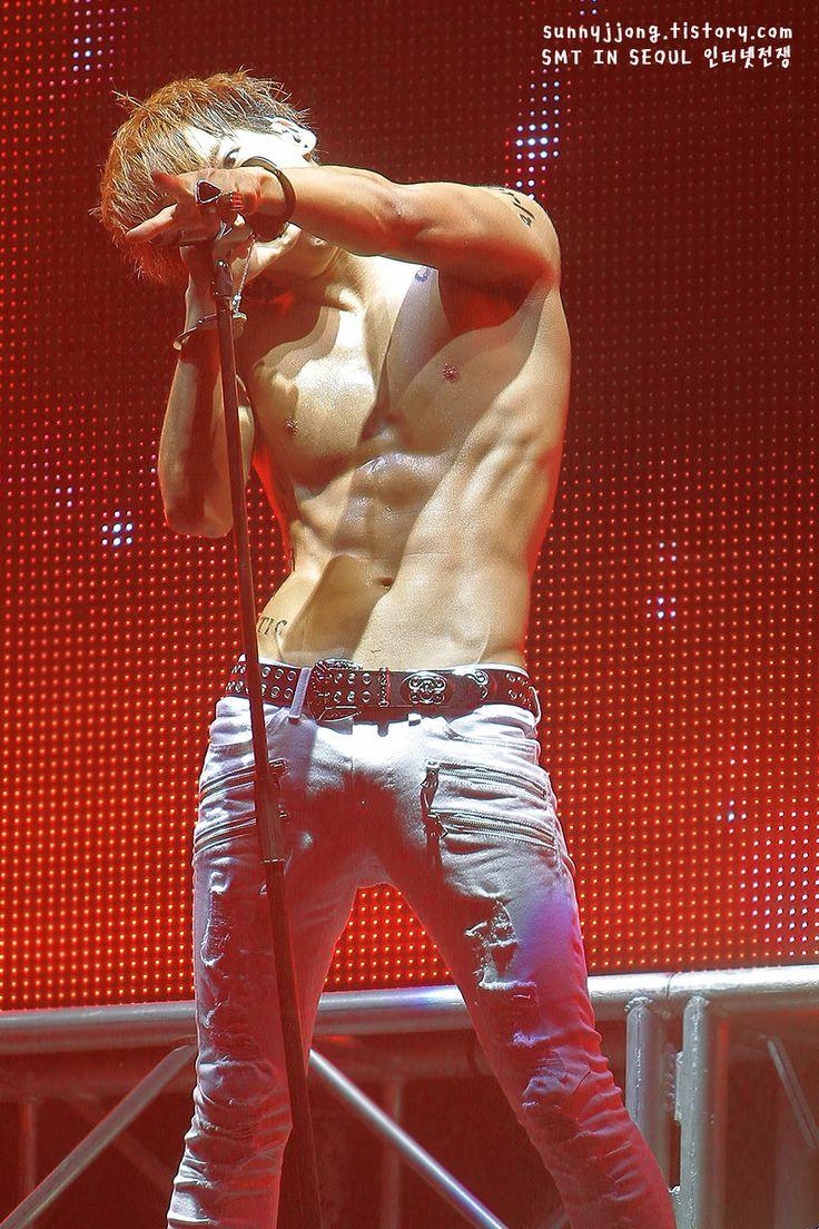 kim jonghyun jonghyun shinee internet war shirtless hot credit as ...