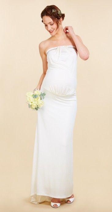 Enceinte ? Notre sélection de robe de mariée pour future maman - Robes de…
