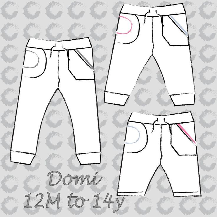 Domi sweat pants (unisex) EN – Sofilantjes Patterns