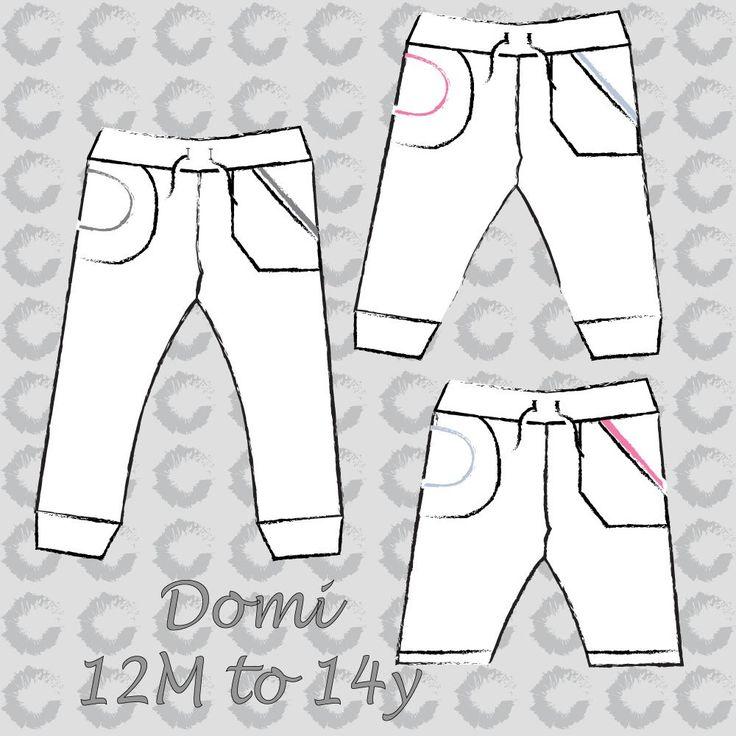 Domi sweat pants (Unisex) NL – Sofilantjes Patterns