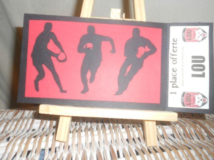 Carte Cadeau Rugby