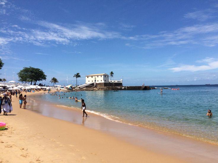 Barra Beach Salvador Brazil
