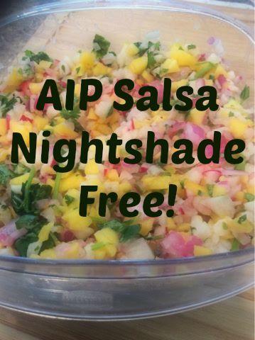 Juicing My MS: Nightshade Free Salsa! (AIP Salsa) Radishes and jicama