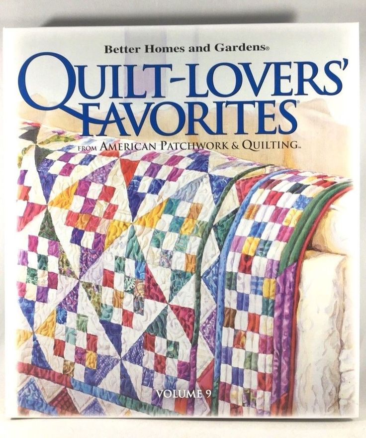 195 best quilting images on pinterest easy quilts patchwork quilt lovers favorites vol 9 american patchwork and quilting better home garden fandeluxe Choice Image
