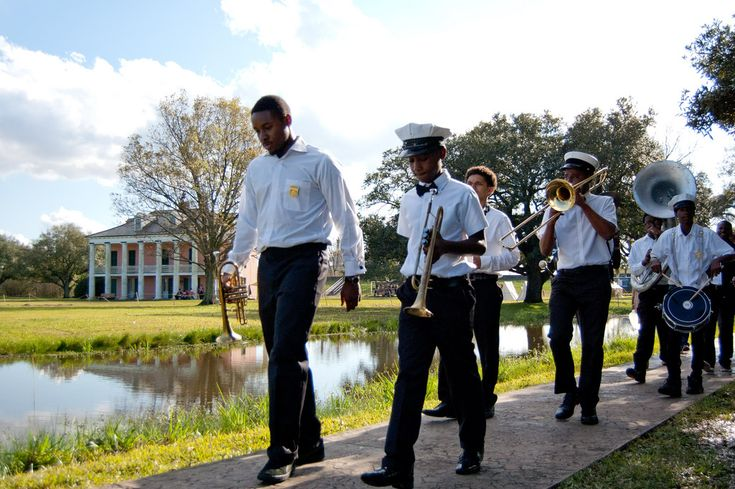 All Around Brass Band play at New Orleans Jazz National Historical Park  www.nps.gov/jazz