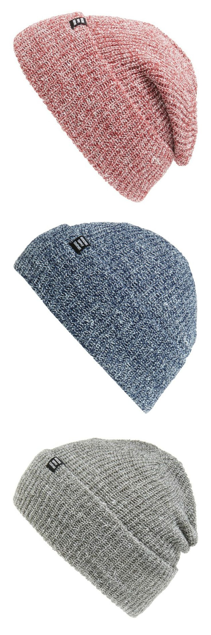 Love these chunky knit beanies!