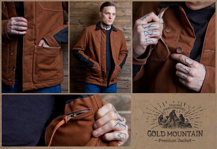 GOLD MOUNTAIN Jacket www.tsmn.cc