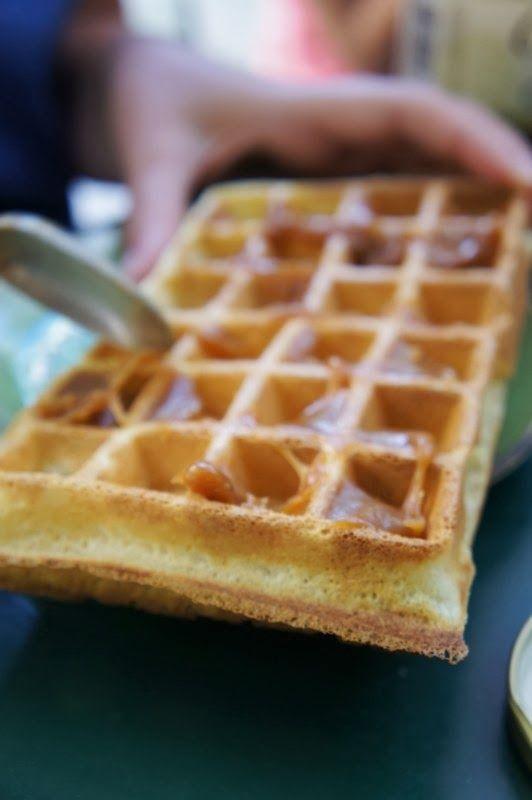 Gourmandises et Merveilles: Gaufres de compétition ou comment retrouver le goût de la fête foraine au goûter !