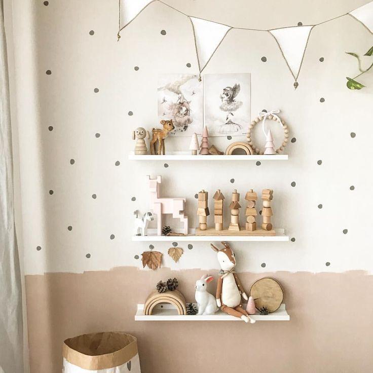 Kinderzimmer Mädchen Junge Idee einrichten Wandgestaltung