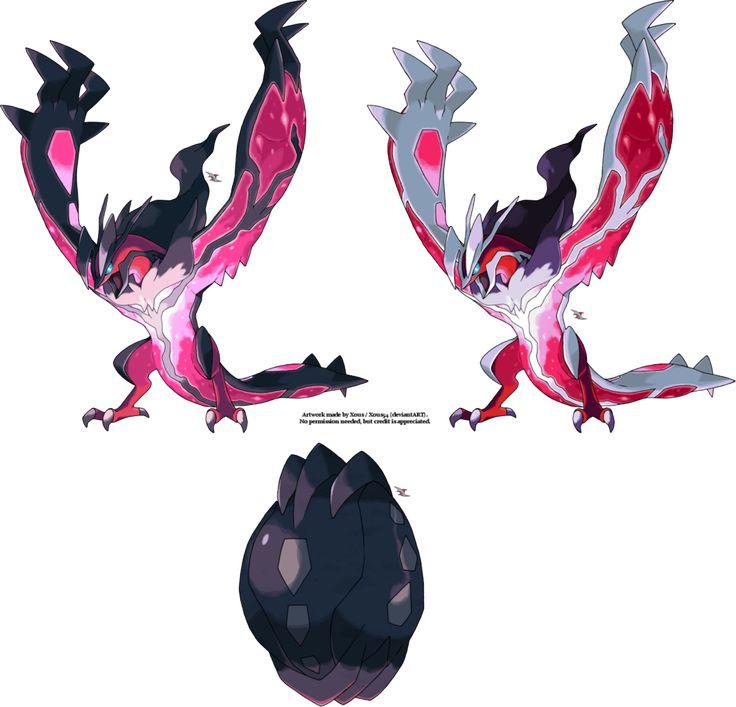 Shiny Yveltal Is So Epic Love It Pokemon Pinterest Pok 233 Mon And Anime