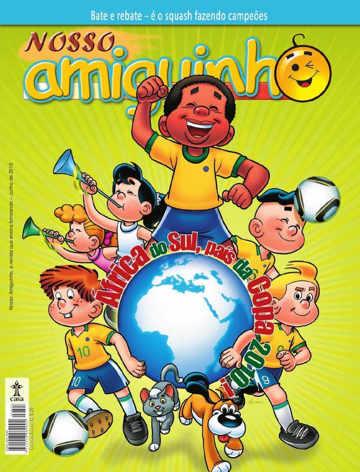 Revista Nosso Amiguinho  Revista aprende brincando brasileira