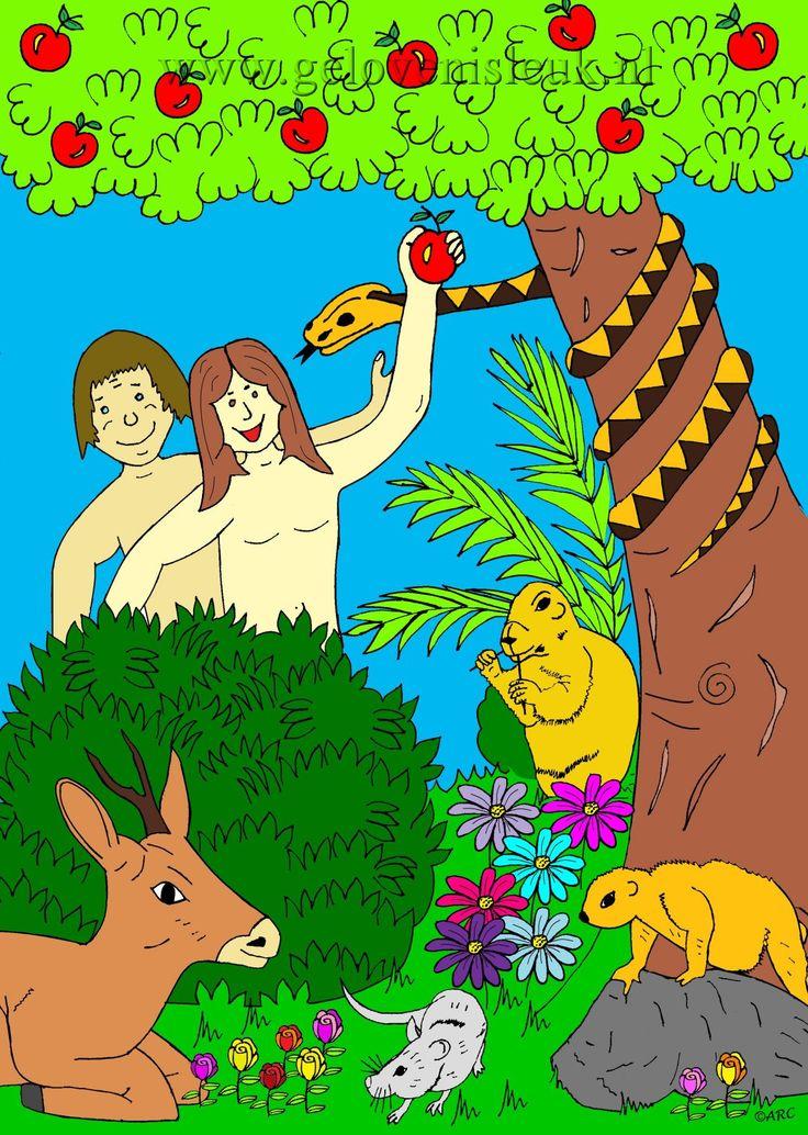 geloven is leuk - Adam en Eva