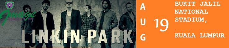 Linkin Park is going rock KL August 19.