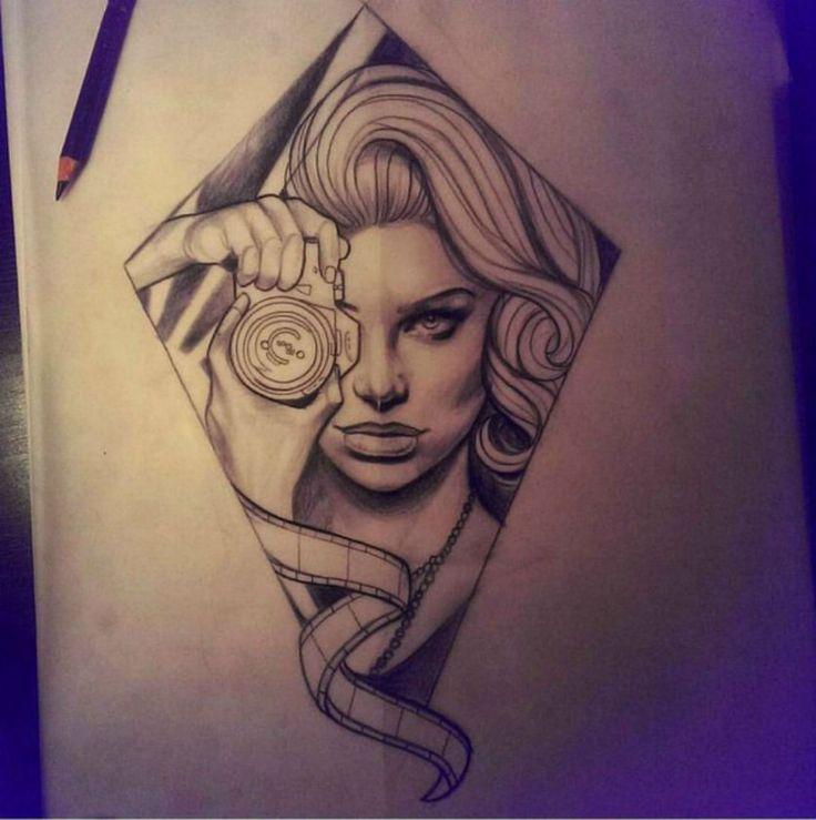 Liz hapi tattoo flash pinterest for Cherry bomb tattoo parlor perth