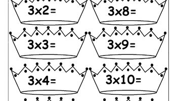 Multiplication Times Tables Worksheets - 2, 3, 4, 6, 7, 8, 9, 10, 11, 12, 13, 14, 15, 16, 17, 18, 19 & 20  Times Tables